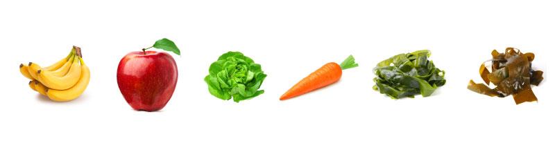 カリウムを多く含む食べ物